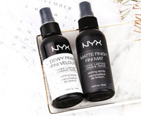 Wholesale normal bulbs for sale - NYX Dewy Finish Fini Veloute Matte Finish Makeup Setting Spray Long lasting Setting Spray Finish Fini Mat Cosmetics