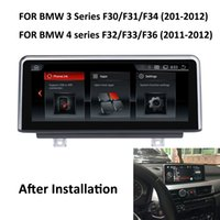 "Wholesale bmw touch screen car radio - COIKA 10.25"" Android 6.0 System Car DVD Screen For BMW 3 F30 F31 F34 Series 4 F32 F33 F36 2011-2012 GPS Navi Stereo Multimedia Phonelink"