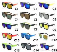 Wholesale spy sunglasses online - 16 Colors Men Sports Discord Spied Sunglasses Brand Designer KEN BLOCK Sun Glasses Mirror Outdoor Helm Eyewear Driving Shades