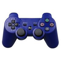 mejores controladores de pc al por mayor-Con la caja para minoristas Para PlayStation 3 PS3 Controlador de juegos inalámbrico Bluetooth Gamepad Los mejores juegos de controladores de PC