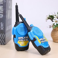 Wholesale tools range online - Remote Wireless Call Electric Walkie Talkie Children Toy Kids Electric Strong Clear Range Interphone Kids Interactive Toys DDA656 Tools