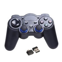 Wholesale usb rf receiver for sale - Group buy 2 G Wireless Game Gamepad Joystick Controller for TV Box Tablet PC GPD XD Android Windows with USB RF Receiver Game Control