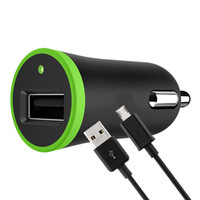 легкие телефоны оптовых-2 в 1 комплект для одного USB автомобильное зарядное устройство адаптер прикуривателя 2.1 A с зарядным шнуром кабель для передачи данных 1.2 м для телефона iPhone 30шт
