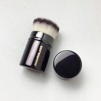 Wholesale retractable foundation brush - Hourglass Retractable Kabuki brush - A on-go Travel Powder Blush & Foundation Brush -Makeup Brushes Tool Applicatior
