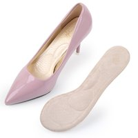 palmilhas invisíveis venda por atacado-New Arch palmilhas de apoio parcial sapato almofadas Invisible palmilha de salto alto meia jarda pad mulheres brioche Lady sandália sapato pad