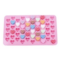 Wholesale chocolate moulds sale - Hot sale creative manual heart-shaped Chocolate mould cute Home ice-cream mould Kitchen tool Cake moulds T3I0020