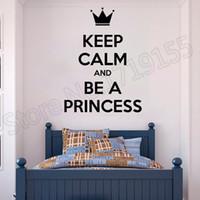 ingrosso adesivi murali della principessa-Preventivo Adesivo per camera da letto Princess Lady Donna Ragazza Adesivo per camera da letto per ragazze Fashion Wall decalcomania personalizzata da parete decora la decorazione ZW38