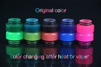 Wholesale Heat Changing - Newest 810 Mouthpiece Color Change Resin Drip Tip for TFV8 TFV12 TFV8 Big Baby Color Changed after heat or vape