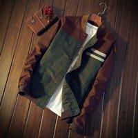 Wholesale large mens coats jacket - 2018 New Trend Long Sleeve Brand Jacket Men Fashion High Quality Mens Coats And Jackets Loose Large Size Casual Casual Jackets