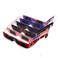 ad3585df09f99 Óculos de armação de papel Novidade Bader Diafragma Lens Eclipse Spectacles  Óculos de Visão Solar Proteger Os Olhos Seguros Óculos Fácil de Carregar  Venda ...