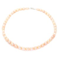 Wholesale beaded necklaces online - Fashionable pearl jewelry freshwater pearl beaded necklace mm natural color pearl necklace