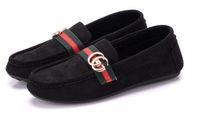 zapatos de vestir de la cinta al por mayor-2019 Nueva tendencia de zapatos de vestir para mujer Dura seda polaca cinta mocasines negros-mocasines zapatos de ocio 151