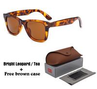 Wholesale vintage round lens sunglasses - Excellent quality Brand Designer Sunglasses Men Women Fashion Vintage Mirror Sun glasses uv400 Lenses with free brown cases and box