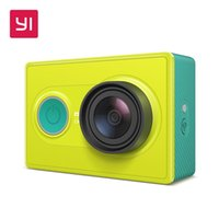 Wholesale resolution electronics online - Xiaomi YI P Action Camera Mini Sport Camera Outdoor High Resolution WiFi and Bluetooth White Lime Green