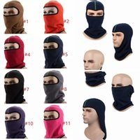 Wholesale tactical beanies for sale - Group buy Winter Barakra Hat Thicker masks Warm Hat Fleece Cycling Caps motorcycle Skiing Sport Windproof cap Tactical mask MMA1094