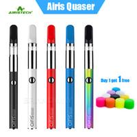 Wholesale Authentic Airis Quaser Starter Kit mAh VV Preheat Battery Wax Dab Vape Pen For Original Ceramic Vaprizer Cartridge Genuine Airistech