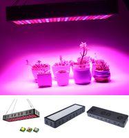 Wholesale led hydroponic plant grow light panel resale online - LED Hydroponic Lights Reflector W LED Grow Light Panel Lamp Full Spectrum Indoor Garden Lights Plants seedling grow lights