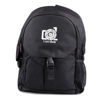 ingrosso sacchetto impermeabile della foto-Borsa fotografica impermeabile per macchina fotografica esterna Lightdow Borsa fotografica multifunzione per zaino fotografico Borsa fotografica per fotocamere Canon Nikon DSLR