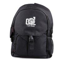 водонепроницаемая сумка для фото оптовых-Lightdow водонепроницаемый открытый камера фото Сумка многофункциональный камера плеча рюкзак поездка фотографическая сумка для Canon Nikon DSLR камеры