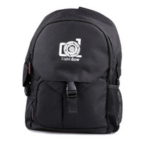 Wholesale cameras photographic online - Lightdow Waterproof Outdoor Camera Photo Bag Multi functional Camera Shoulder Backpack Trip Photographic bag for Canon Nikon DSLR Cameras