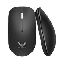 ergonomia portatil al por mayor-Ergonomics Optical 2.4G USB Wireless Mouse Portable Mute Office para PC portátil