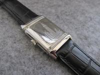 тонкие часы из нержавеющей стали оптовых-27x46mm Reverso ультра тонкий Q2788570 нержавеющая сталь дань 1931 Лондон издание кварцевые мужчины женщины часы высокого качества водонепроницаемый наручные часы