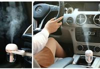 ingrosso umidificatore trasporto libero-DHL LIBERA il trasporto 12 V Portatile Auto Mini Auto Umidificatore A Vapore Purificatore D'aria Aroma Aromaterapia Olio Essenziale Diffusore Mist Maker Mini Fogger