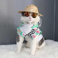 dog fashion sunglasses Canada - 10 Colors Pet Dog Glasses Eye-wear cat Sunglasses Photos Props Fashion pet accessories for puppy Dog Grooming