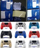 controladores de playstation venda por atacado-NOVA PS4 Controlador de Jogo Sem Fio para PlayStation 4 PS4 Game Controller Gamepad Joystick Joypad para Jogos de Vídeo DHL livre