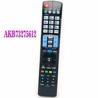lg tv inteligente 3d venda por atacado-NOVO Substituição Universal Remote Control AKB73275612 Fit For LG Smart TV 3D LED LCD HDTV AKB73275619 TV