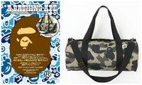 японские бренды сумки оптовых-Прилив Человек Вещевой Сумки Япония Бренд Дизайнер Сумка Камуфляж Сумка Спорт Открытый Пакеты Для Мужчин Женщин Емкость Сумка Для Хранения