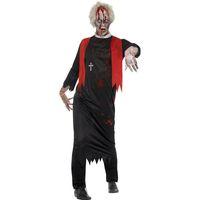 disfraz de zombie hombre al por mayor-Trajes de cocción de sangre para hombres Scary Halloween Costume Para hombre Cosplay Traje Carnival Zombie Cosplay W5389240