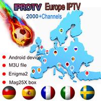 m8s s812 android tv kutusu toptan satış-Fransız IPTV 2100 + Kanalları Avrupa Arapça FR Belçika İNGILTERE IPTV Android TV Box Için Canlı TV, Akıllı TV