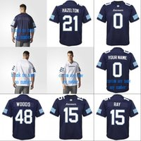 Wholesale new personalized - 2018 New Style Toronto Argonauts 15 Ricky Ray 48 Bear Woods 21 Hazelton Mens Womens Youth 100% Stitched Personalized CFL Football Jerseys