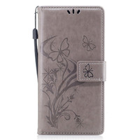 Wholesale flower flip leather pu wallet for sale - For iPhone Xs Max Xr Plus Huawei Mate Xiaomi Redmi Note4 Embossed Flower Card Holder Wallet Flip Leather Case Cover
