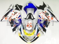 gsxr k1 verkleidungssatz großhandel-Nach Maß Motorrad Verkleidung Kit Fit für Suzuki GSXR GSX-R 600 750 GSXR600 GSXR750 2001 2002 2003 K1 ABS Verkleidungen Verkleidung-kit Einspritzung