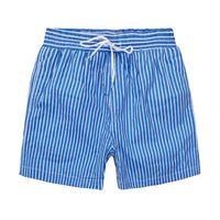 Wholesale cashmere brand clothing - Summer Men Short Pants Brand Clothing Swimwear Nylon Men Brand Beach Shorts Small horse Swim Wear Board Shorts 2018