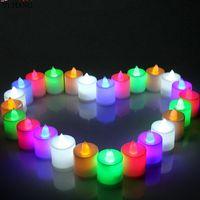 Wholesale pvc wedding candles for sale - Group buy Electronic candle LED Christmas electronic wedding birthday candle light