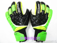 Wholesale checked mittens resale online - OriginL Brand AD Goalkeeper Gloves With Finger Protect High Quality Football Response goalie soccer Professional bola de futebo