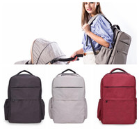 Wholesale backpacks for travel resale online - Large Capacity Maternity Backpack Nappy Diaper Backpacks For Travel Multifunctional Mother Mummy Mom Baby Nursing Bag LJJK930
