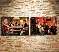 marilyn monroe wandmalerei großhandel-Marilyn Monroe, 2P Leinwand Malerei Wohnzimmer Wohnkultur Moderne Wandmalerei Ölgemälde