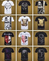 Wholesale quick rock for sale - Hot D Rock Men s Tshirt Fashion Hip Hop Skull Print Cotton T Shirt Men Casual Fitness O Neck Short Sleeve Summer PP Street Tops Tee