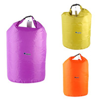 Wholesale dry bag for canoe for sale - Group buy Waterproof New Outdoor Portable L L L Bag Storage Dry Bag for Canoe Kayak Rafting Sports Camping Travel Kit