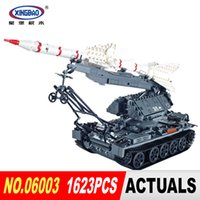 Wholesale Child S Toys - Xingbao 06003 Military Series 1623Pcs The SA-2 Guideline Set Building Blocks Bricks Children Educational Boy`s Toys Model Gifts