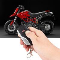 Wholesale alarm anti theft system - 12V Universal One Way Motorcycle Vibration Reminding Anti-theft Device Security Alarm System Burglar Alarm Remote Controller