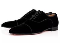 zapatos de vestir para hombre negro único al por mayor-Marca de moda zapatos rojos inferiores Greggo Orlato zapatos Oxford de cuero genuino planos para mujer para hombre que caminan planos del banquete de boda mocasines 35-46