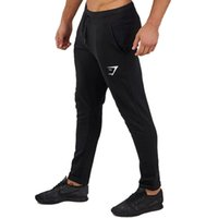 Wholesale Muscles Men Pants - Muscle brothers 2018 hot sale fitness sports pants men's quick-drying breathable Wei pants running training pure color casual trousers