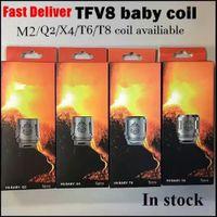 bobinas de besta de bebê q2 venda por atacado-Bobina do tanque do animal do BEBÊ de TFV8 Bobina principal V8 Baby-T8 0.15ohm T6 0.2ohm X4 0.15ohm Príncipe do núcleo TFV12 de 0.15ohm 0.15ohm Q2 M2 0.15ohm para o tanque de bebê grande