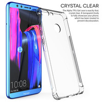 Wholesale huawei honor casing - Ultra Thin Slim Huawei Honor 9 Lite 7X 6X Case Luxury Anti-knock Silicone Soft TPU Transparent Clear Back Cover