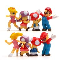 фигурка принцесс оптовых-8 шт. / компл. Super Mario Bros 2